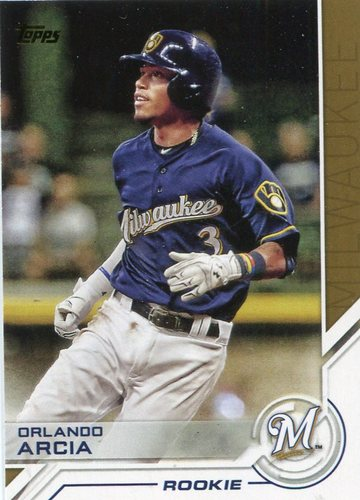 Photo of 2017 Topps Salute #S11 Orlando Arcia