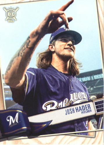 Photo of 2019 Topps Big League #293 Josh Hader