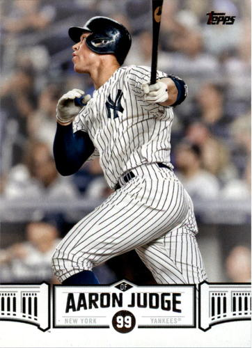 Photo of 2018 Topps Aaron Judge Highlights #AJ18 Aaron Judge