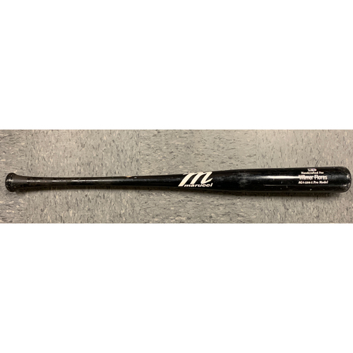 Photo of 2020 Team Issued Spring Training Bat - #41 Wilmer Flores - Marucci Game Model