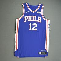 Tobias Harris - Philadelphia 76ers - Game-Worn Icon Edition Jersey - Scored 30 Points - 2019-20 NBA Season Restart with Social Justice Message