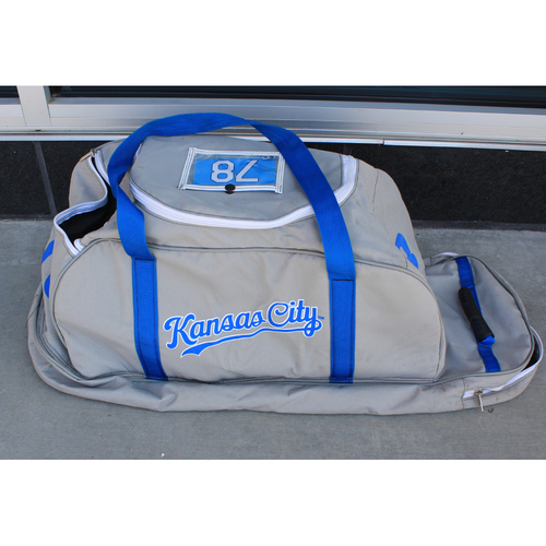 Photo of Game-Used Spring Training Bag: Emmanuel Rivera #78