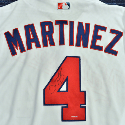 Photo of Washington Nationals Philanthropies Jerseys Off Their Back Auction - Dave Martinez - Autographed Game-Used Jersey - Size 48C