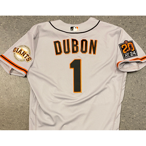 Photo of 2020 Team Issued Road Jersey - #1 Mauricio Dubon - Size 44