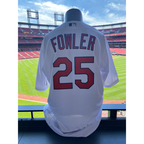 Photo of Cardinals Authentics: Team Issued Dexter Fowler Home White Jersey