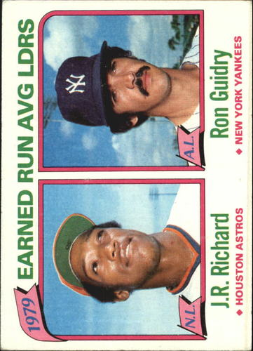 Photo of 1980 Topps #207 ERA Leaders/J.R. Richard/Ron Guidry