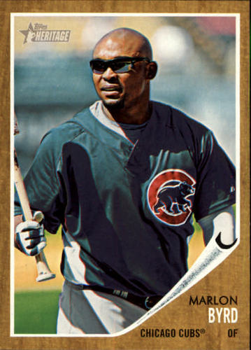 Photo of 2011 Topps Heritage #228 Marlon Byrd