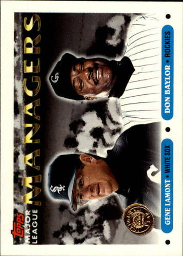 Photo of 1993 Topps Inaugural Rockies #504 Gene Lamont MG/Don Baylor MG