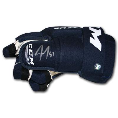 Jake Gardiner Autographed CCM Hockey Glove (Toronto Maple Leafs)