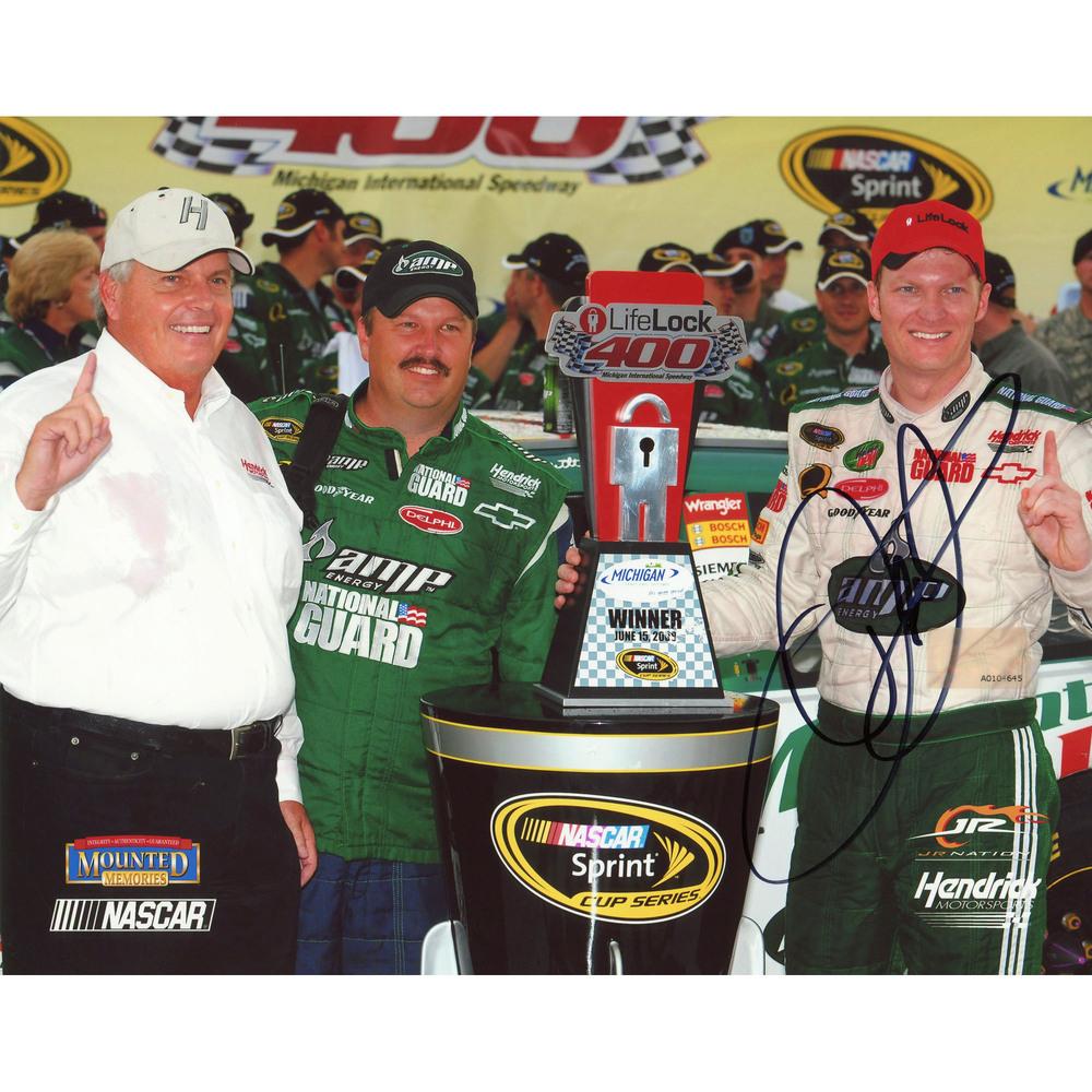 Dale Earnhardt Jr. Autographed 8