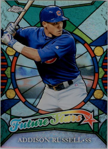 Photo of 2016 Topps Chrome Future Stars #FS7 Addison Russell