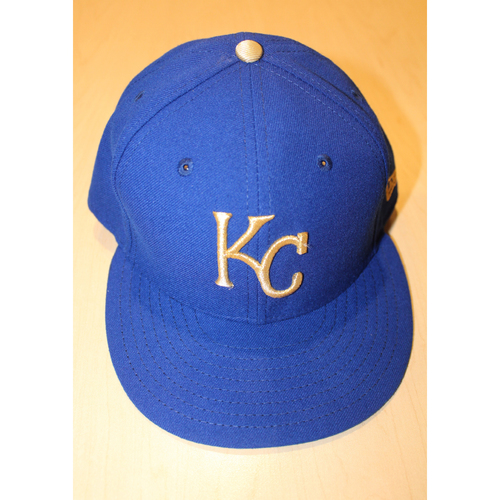 Photo of Game-Used Cap: Trevor Cahill (ARI at KC - 9/29/2017)