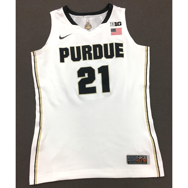 Photo of Massey #21 Purdue Women's Basketball 2013-14 White Jersey