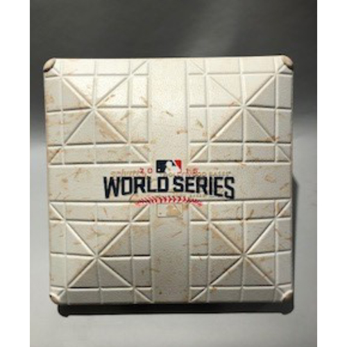 Photo of 2016 World Series Base - 3rd Base used in innings 1-2 of Game 3 - 10/28/16