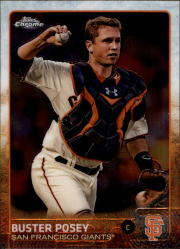 Photo of 2015 Topps Chrome #179 Buster Posey