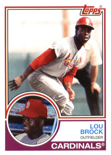 Photo of 2015 Topps Archives #271 Lou Brock