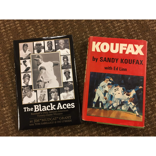 Photo of Mudcat Grant And Sandy Koufax Book Bundle