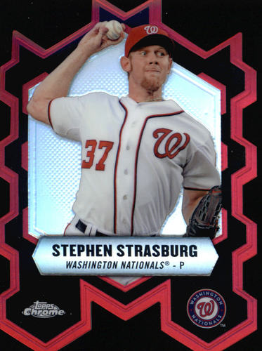Photo of 2013 Topps Chrome Chrome Connections Die Cuts #CCSS Stephen Strasburg