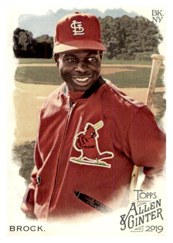 Photo of 2019 Topps Allen and Ginter #389 Lou Brock SP
