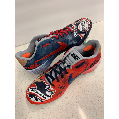 Photo of 2019 PLAYBALL PARK CUSTOMIZED KICKS - By Artist Jonathan Hrusovsky