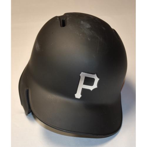 "Photo of Melky ""MELK MAN"" Cabrera Pittsburgh Pirates Game-Used 2019 Players' Weekend Helmet (Left-Handed)"