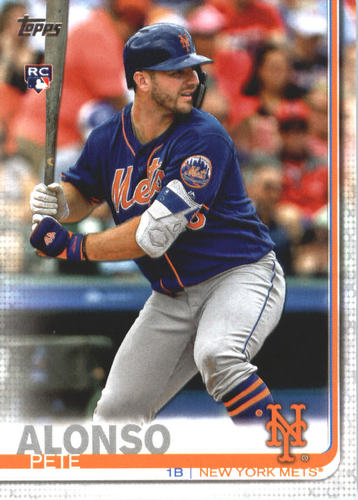 Photo of 2019 Topps #475 Pete Alonso Rookie Card