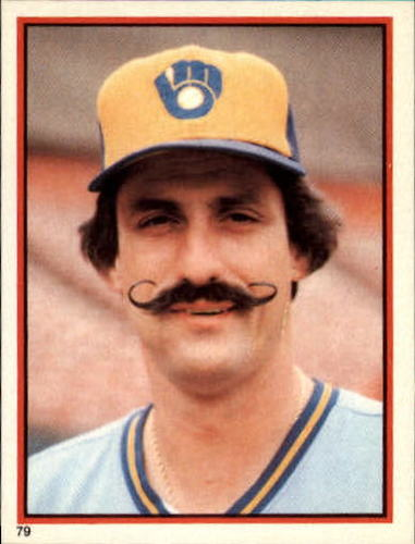 Photo of 1983 Topps Stickers #79 Rollie Fingers