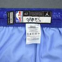 LeBron James - 2020 NBA All-Star - Game-Worn Shorts - Team LeBron - 1st and 2nd Quarter - NBA Record 16th All-Star Game Start