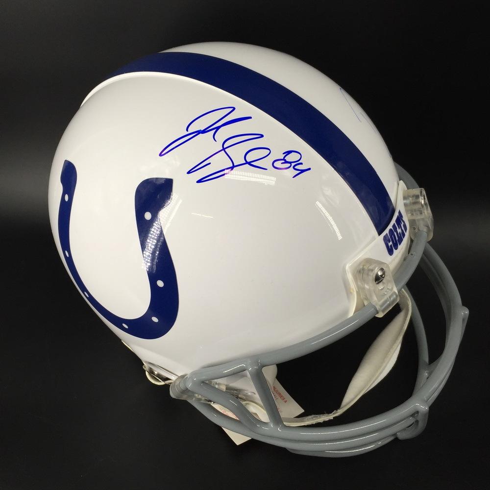 NFL - Colts Jack Doyle and Darius Leonard Signed Proline Helmet