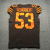 Crucial Catch - Browns Joe Schobert Game Used Jersey (10/13/2019) Size 42