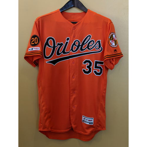 Photo of Dwight Smith Jr - Orange Alternate Jersey (2-Run HR): Game-Used