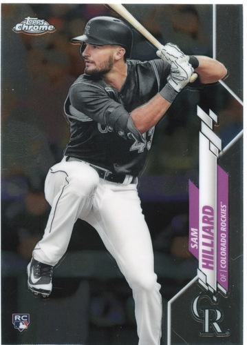 Photo of 2020 Topps Chrome #67 Sam Hilliard RC