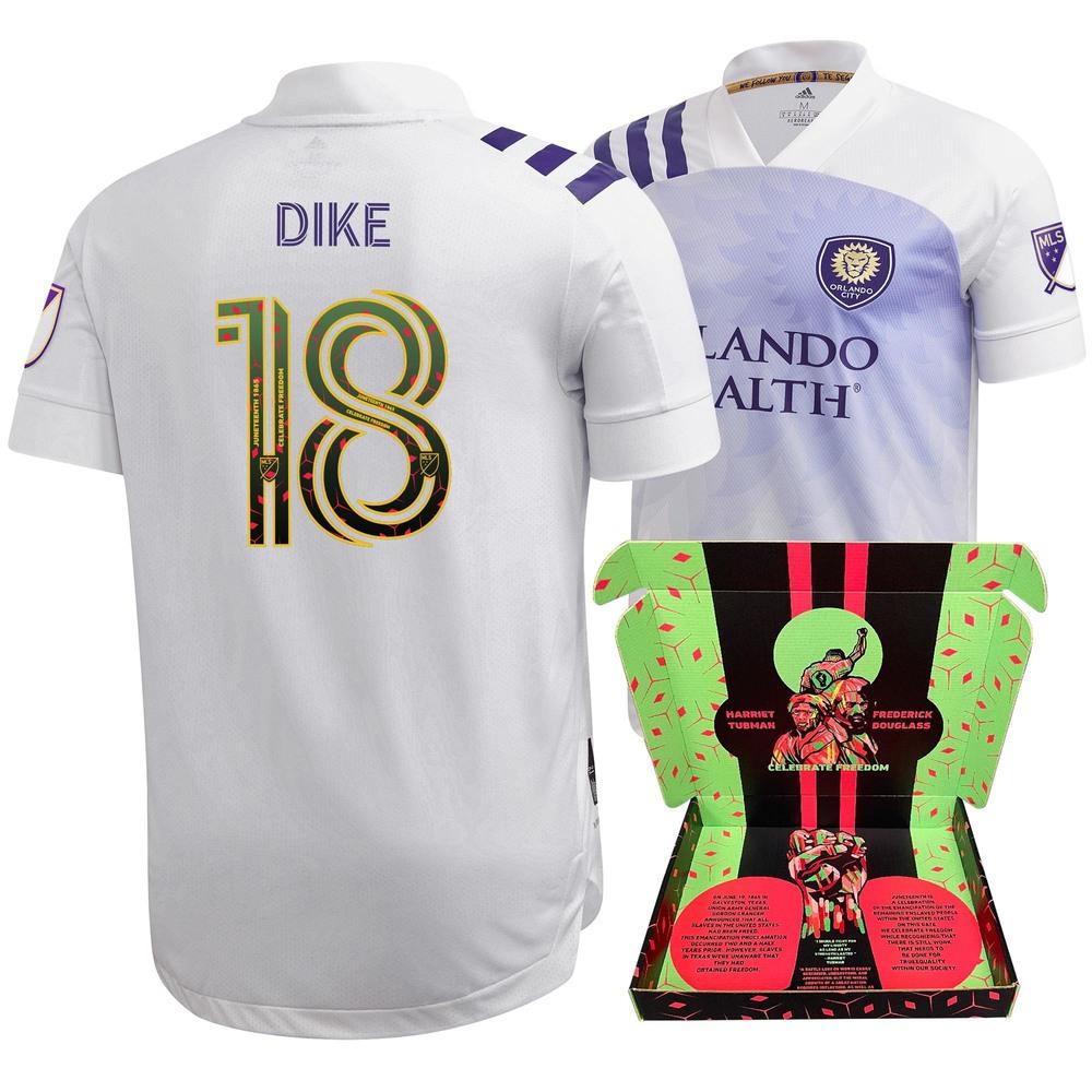 Daryl Dike Orlando City SC Match-Used & Signed