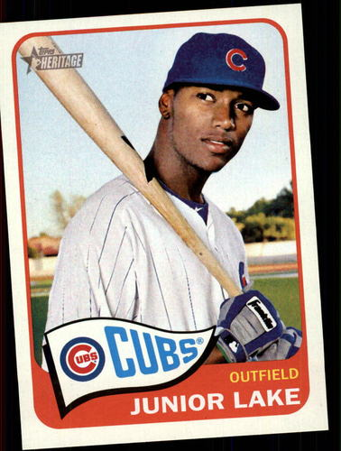 Photo of 2014 Topps Heritage #220 Junior Lake