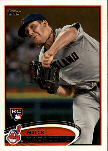 Photo of 2012 Topps #6 Nick Hagadone RC