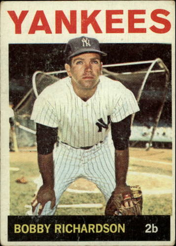 Photo of 1964 Topps #190 Bobby Richardson