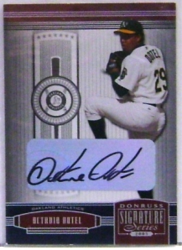 Photo of 2005 Donruss Signature Autograph Silver #91 Octavio Dotel T4