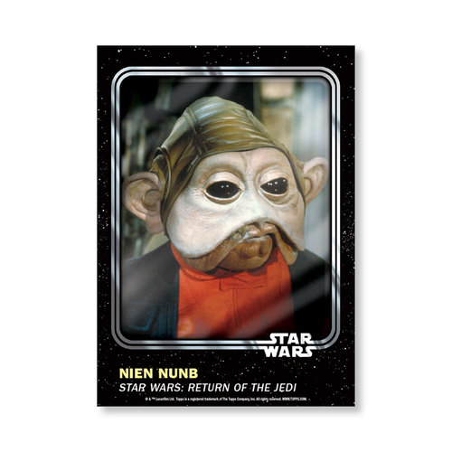 Nien Nunb 2016 Star Wars Card Trader Base Poster - # to 99