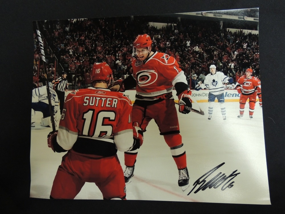 Brandon Sutter #16 Autographed 8x10 Photo