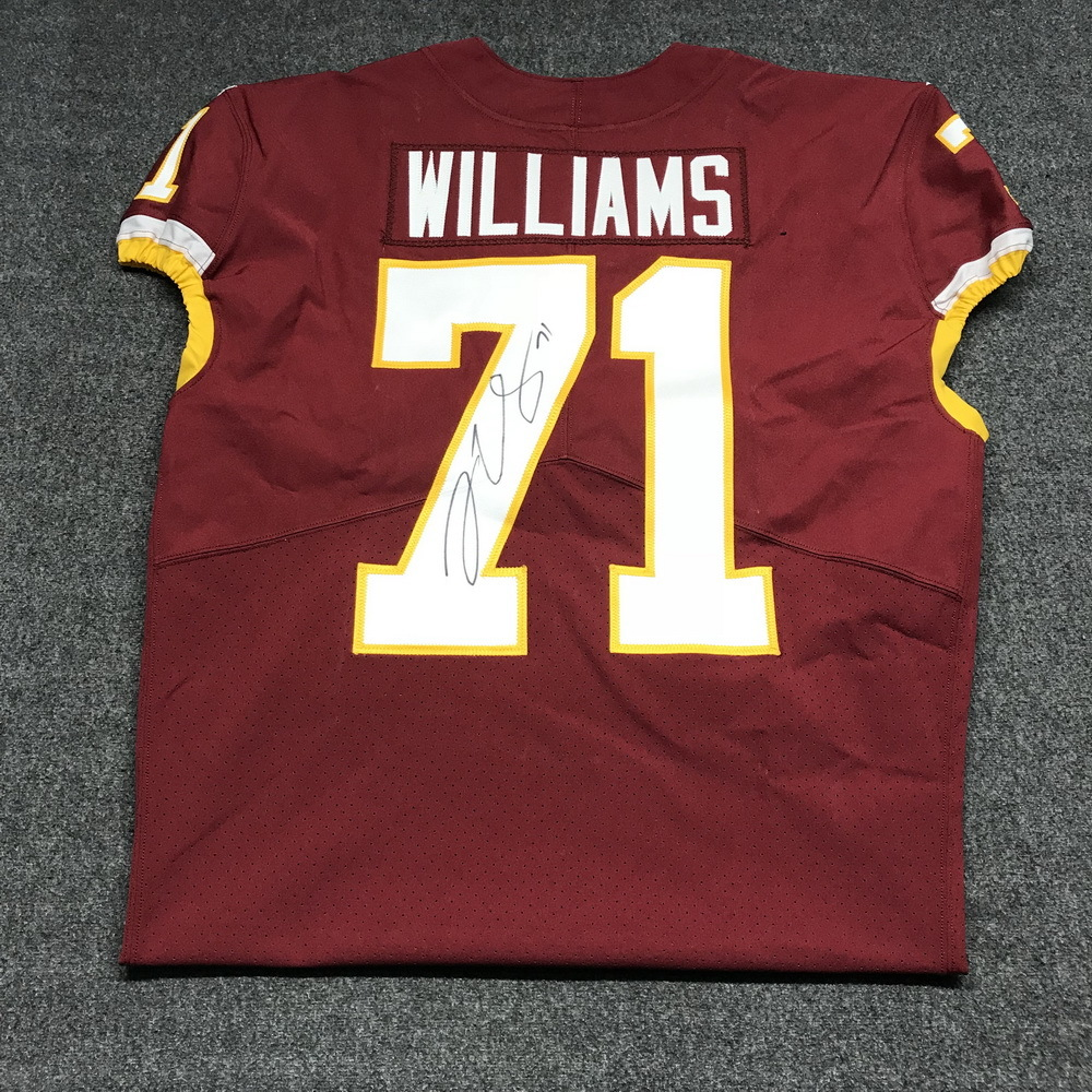 trent williams jersey