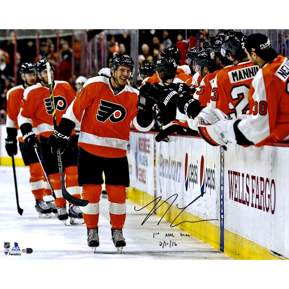 Nick Cousins Philadelphia Flyers Autographed 16