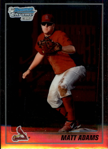 Photo of 2010 Bowman Chrome Prospects #BCP14 Matt Adams Pre-Rookie Card