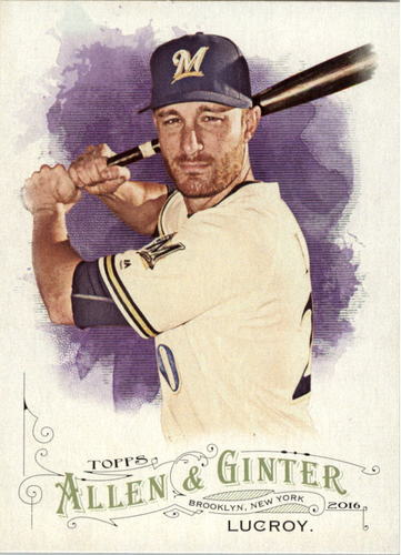Photo of 2016 Topps Allen and Ginter #124 Jonathan Lucroy