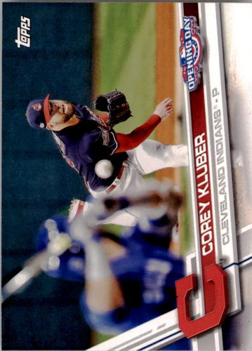 Photo of 2017 Topps Opening Day #63A Corey Kluber