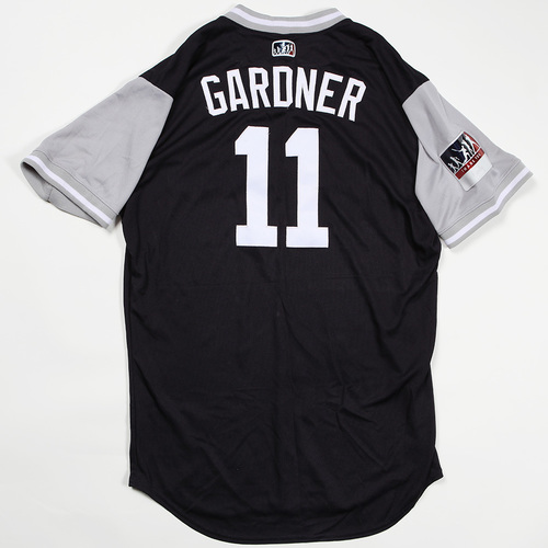 "Photo of Brett ""Gardner"" Gardner New York Yankees Game-Used Jersey 2018 Players' Weekend Jersey"