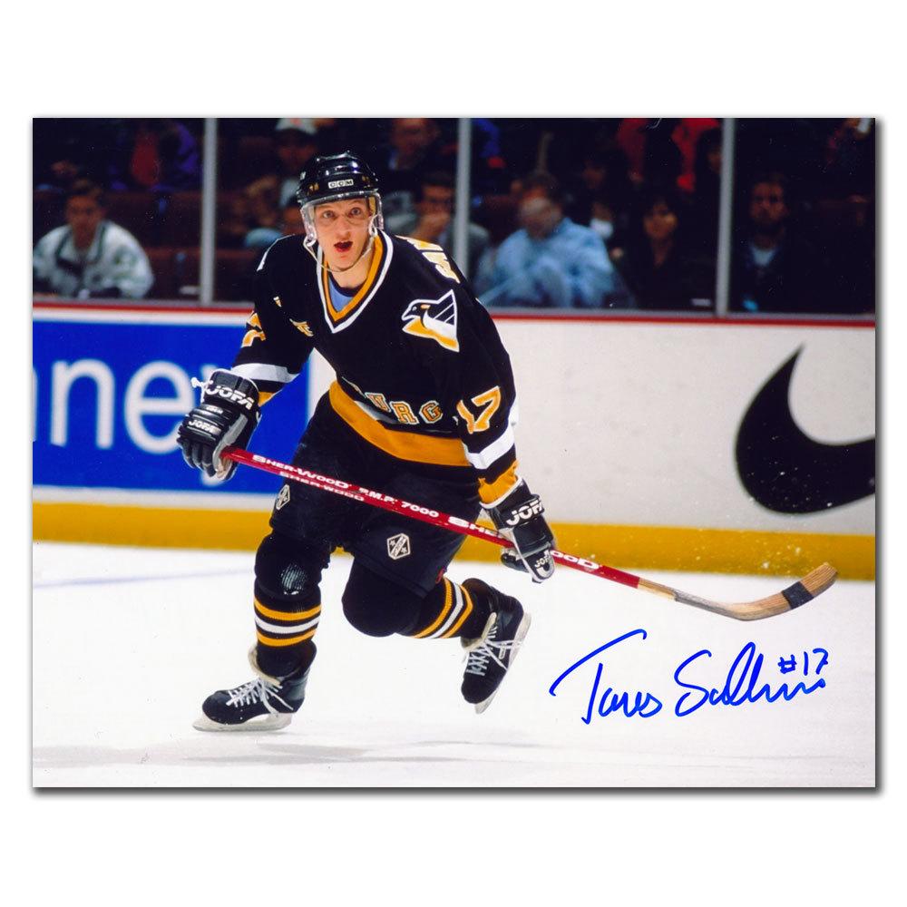 Tomas Sandstrom Pittsburgh Penguins BREAKOUT Autographed 8x10