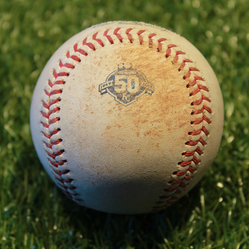 Photo of Game-Used Baseball: Logan Forsythe 680thth Career Hit (9/16/18 - MIN @ KC)