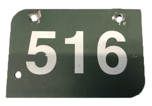 Photo of Wrigley Field Collection -- Aisle Marker 516 -- Removed after 2018 Season