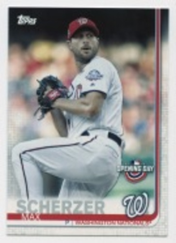Photo of 2019 Topps Opening Day #183 Max Scherzer