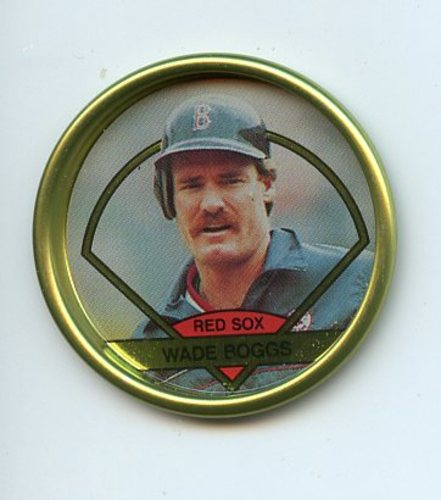 Photo of 1990 Topps Coins #6 Wade Boggs